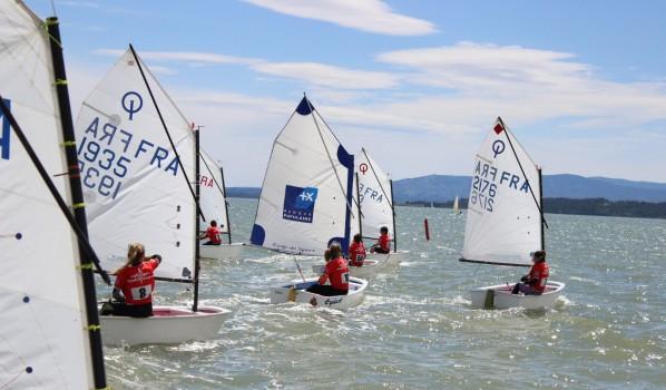Vingt-cinq bateaux au critérium Aude/PO à La Nautique