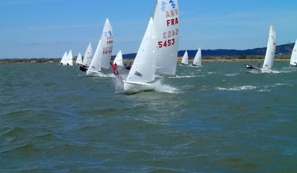 Cent sept bateaux pour le championnat de ligue de voile légère: c'était la fête dimanche à la Nautique.