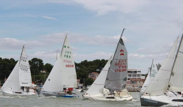 Seize bateaux au rendez-vous narbonnais des Micros