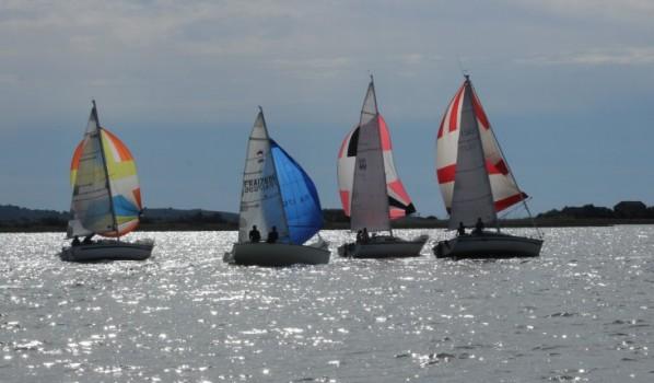 Dix-sept bateaux aux 20 milles de la Nautique